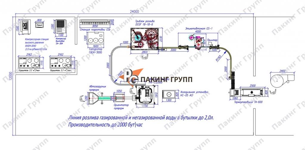 Тепловой аккумулятор для производства горячей воды